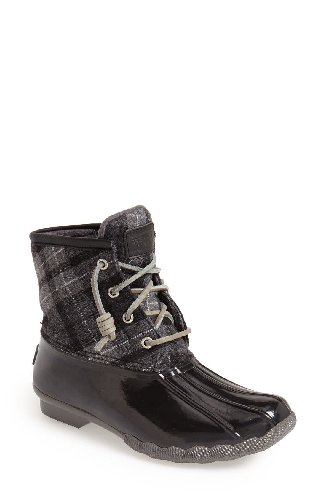 ,                             Saltwater Duck Boot,                             Main thumbnail 32, color,                             002