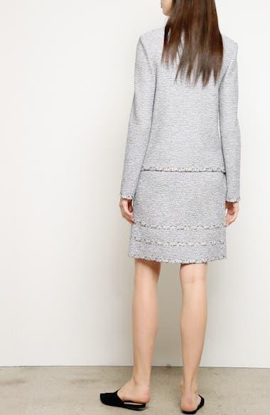 Luxury Crepe Tweed Knit Jacket, video thumbnail