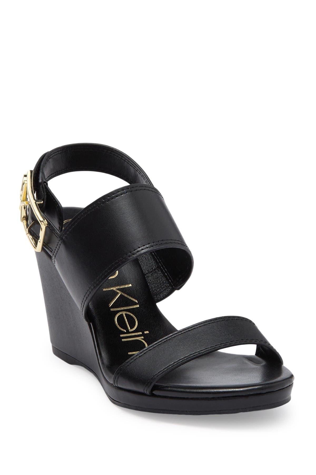 Calvin Klein High heels BELLE WEDGE SANDAL