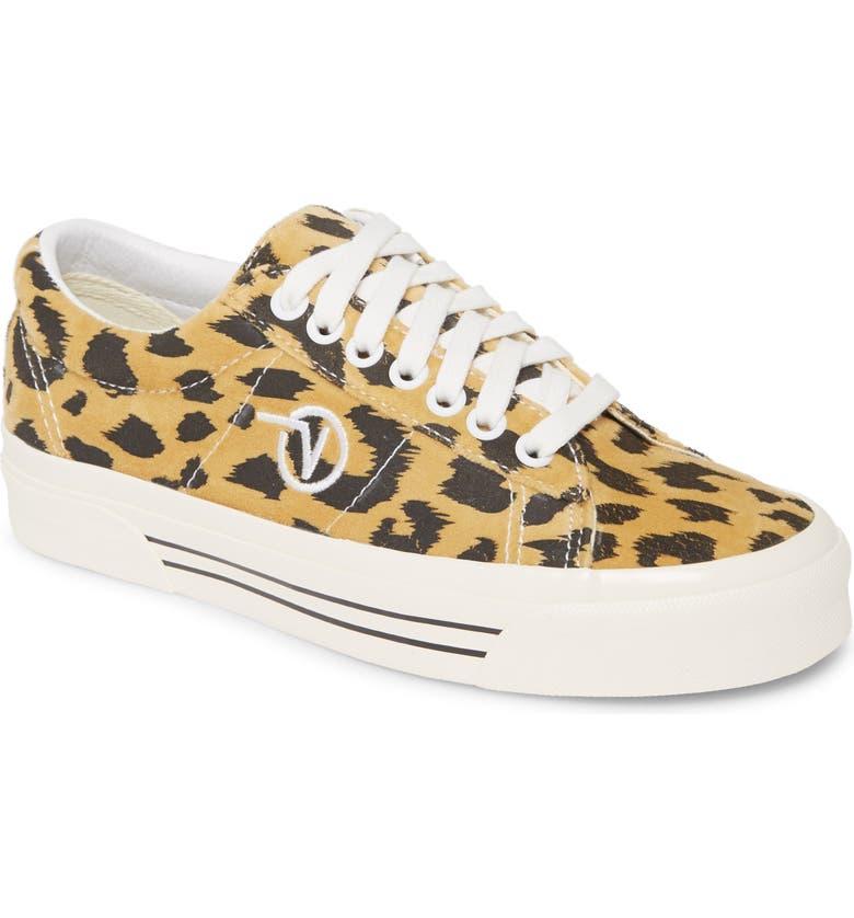 VANS UA Sid DX Sneaker, Main, color, ANAHEIM FACTORY/ LEOPARD