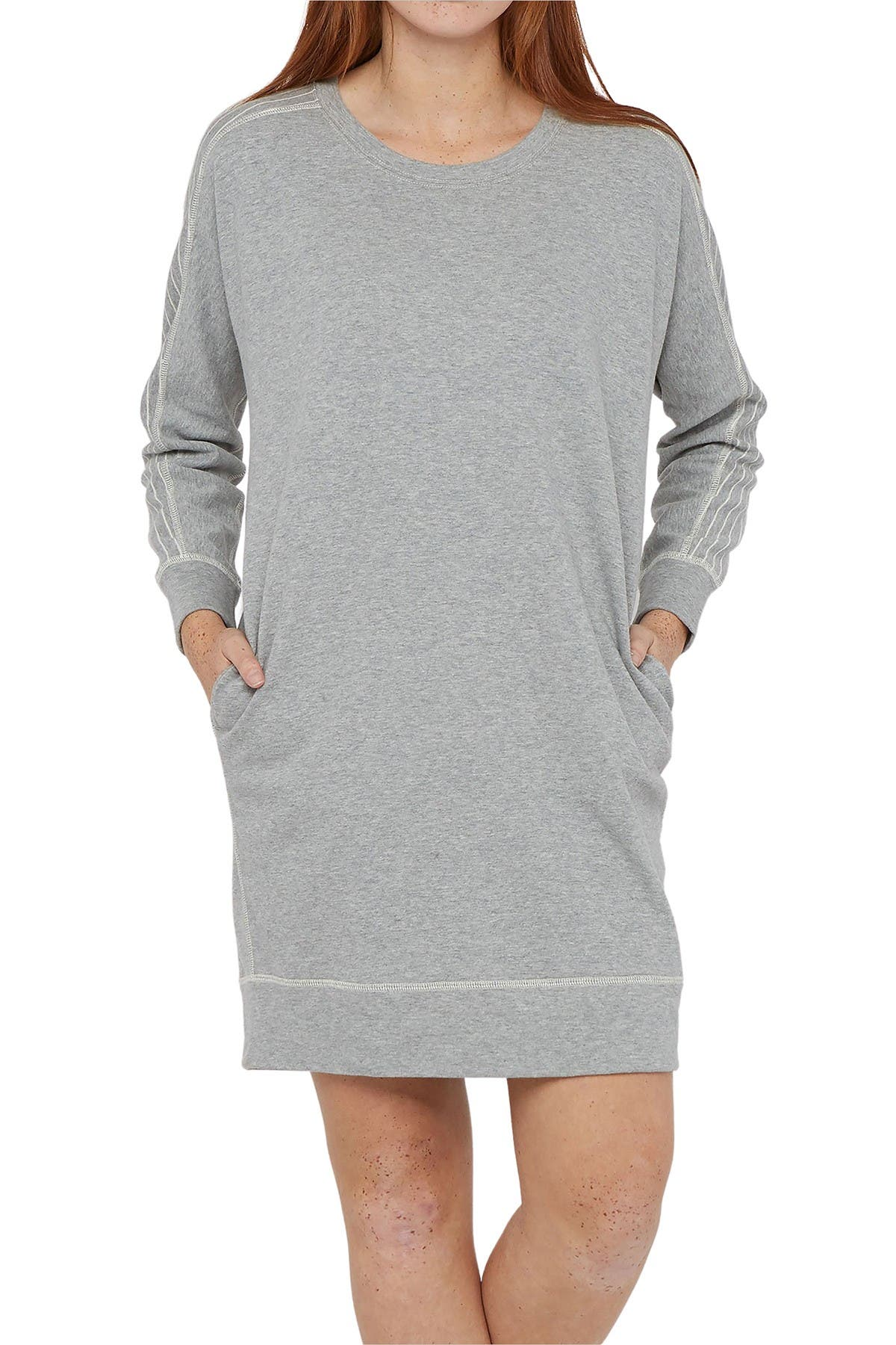 Image of Billy Reid Terry Stripe Panel Dress