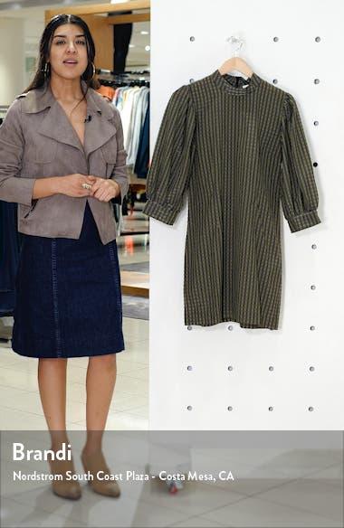 Short Check Seersucker Dress, sales video thumbnail