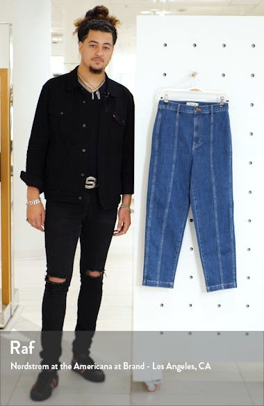 Seamed Edition Tapered Jeans, sales video thumbnail