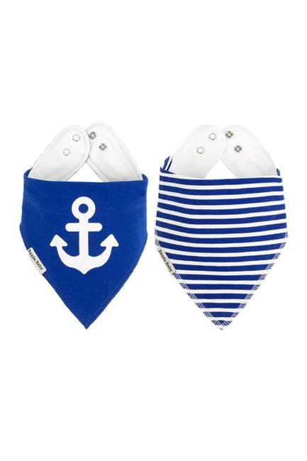 Image of Bazzle Baby Sailor Bandana Bibs - Pack of 2