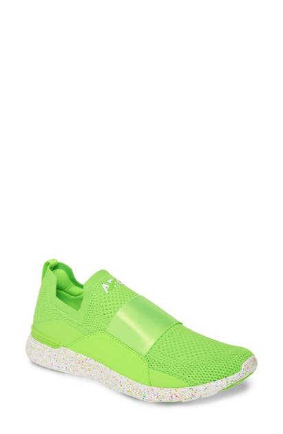 Apl Athletic Propulsion Labs Shoes TECHLOOM BLISS NEON KNIT RUNNING SHOE