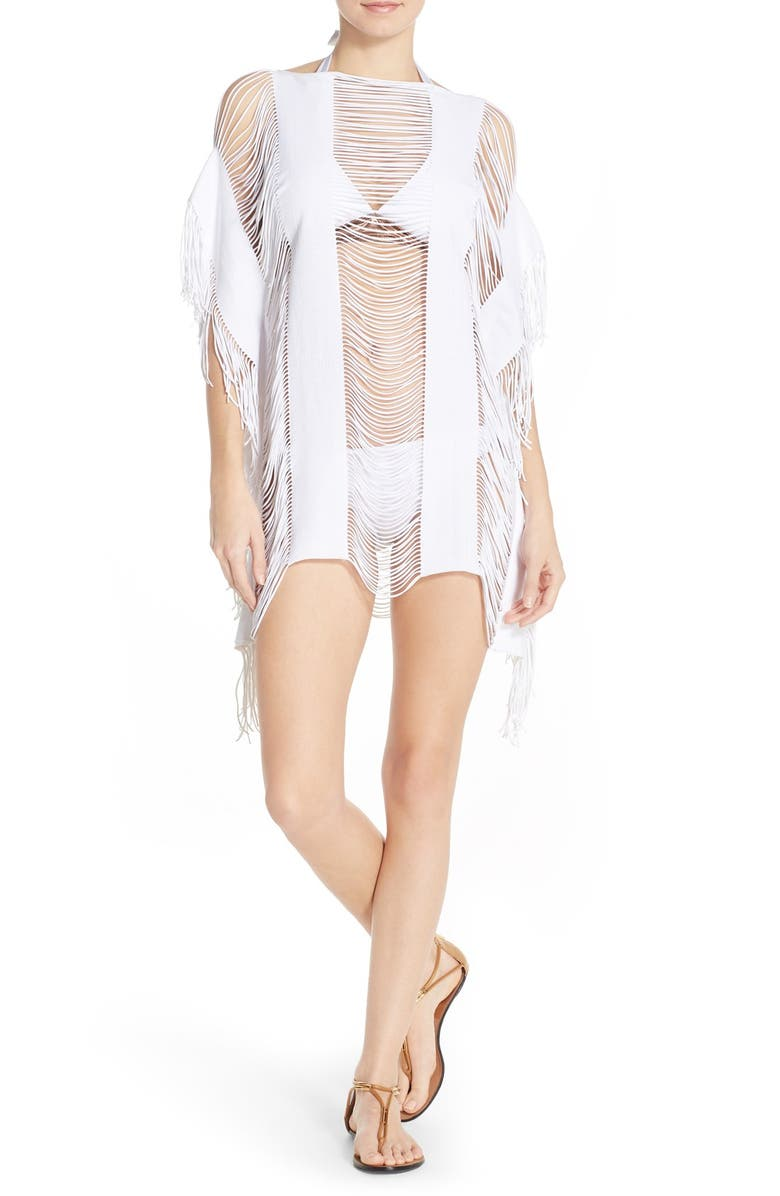 848df57d7 'Monique' Fringe Cover-Up, Main, color, ...