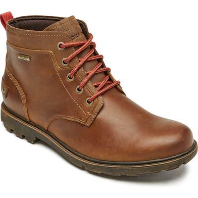 Rockport Rugged Bucks Ii Waterproof Plain Toe Boot- Brown