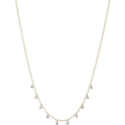 Meira T Diamond Shaker Frontal Necklace