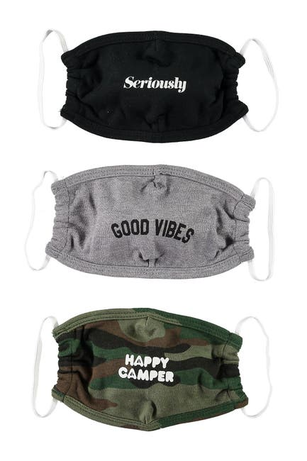 Image of Sub_Urban Riot Happy Camper Mask - Pack of 3