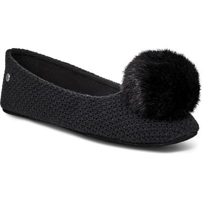 UGG Andi Pompom Slipper, Black