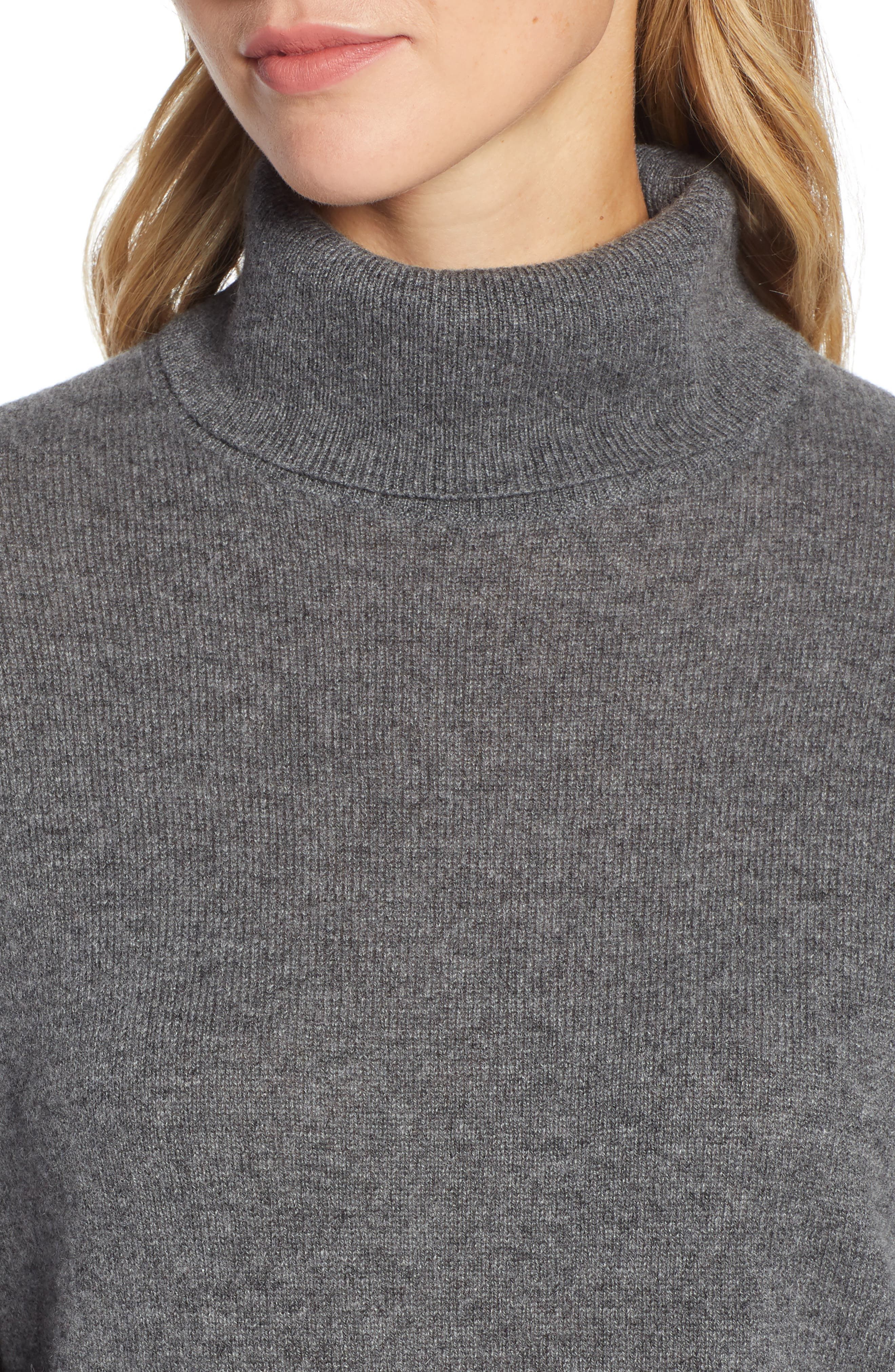 ,                             Cashmere Turtleneck Sweater,                             Alternate thumbnail 16, color,                             030