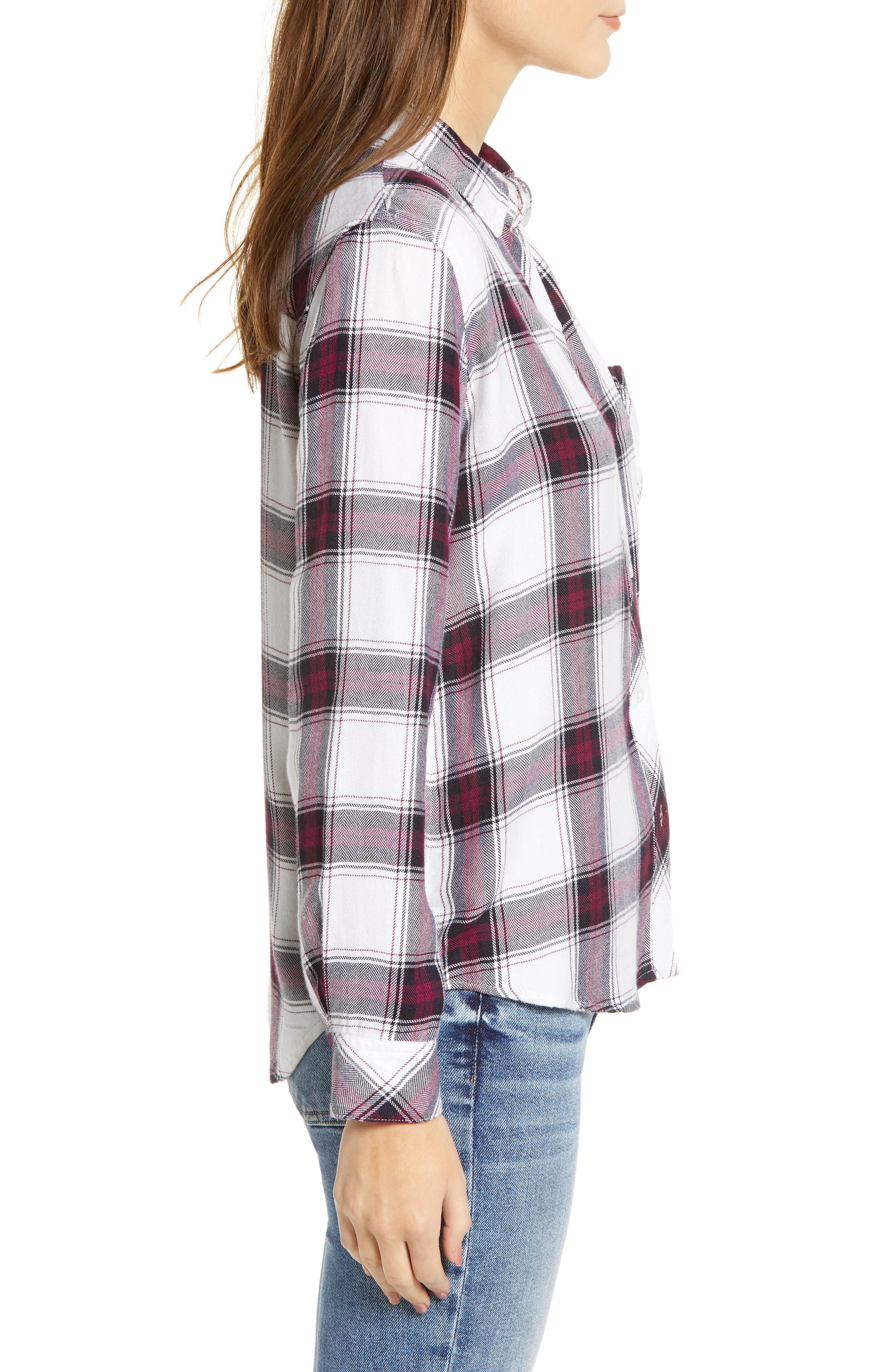 ,                             Hunter Plaid Shirt,                             Alternate thumbnail 408, color,                             502