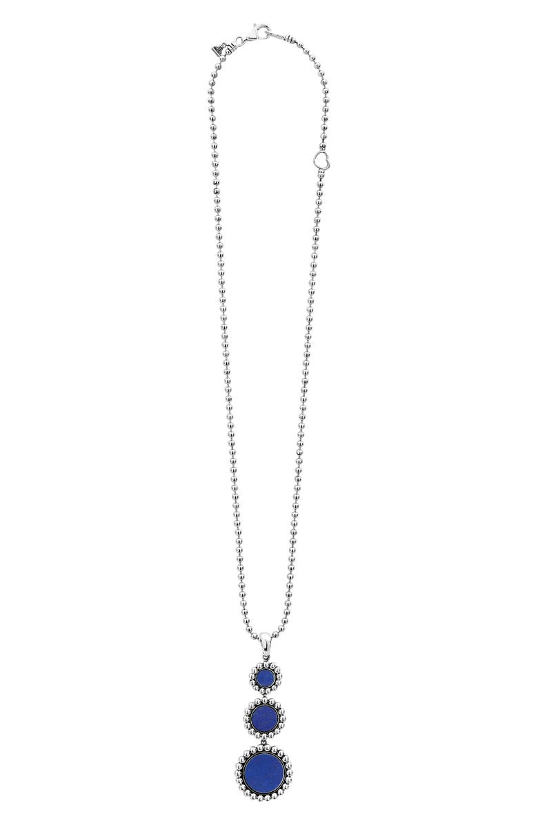 LAGOS Maya Triple Circle Pendant Necklace