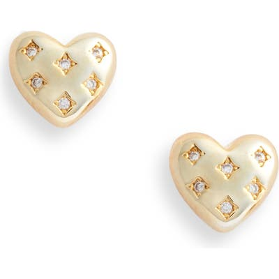 Bracha Queen Of Hearts Stud Earrings