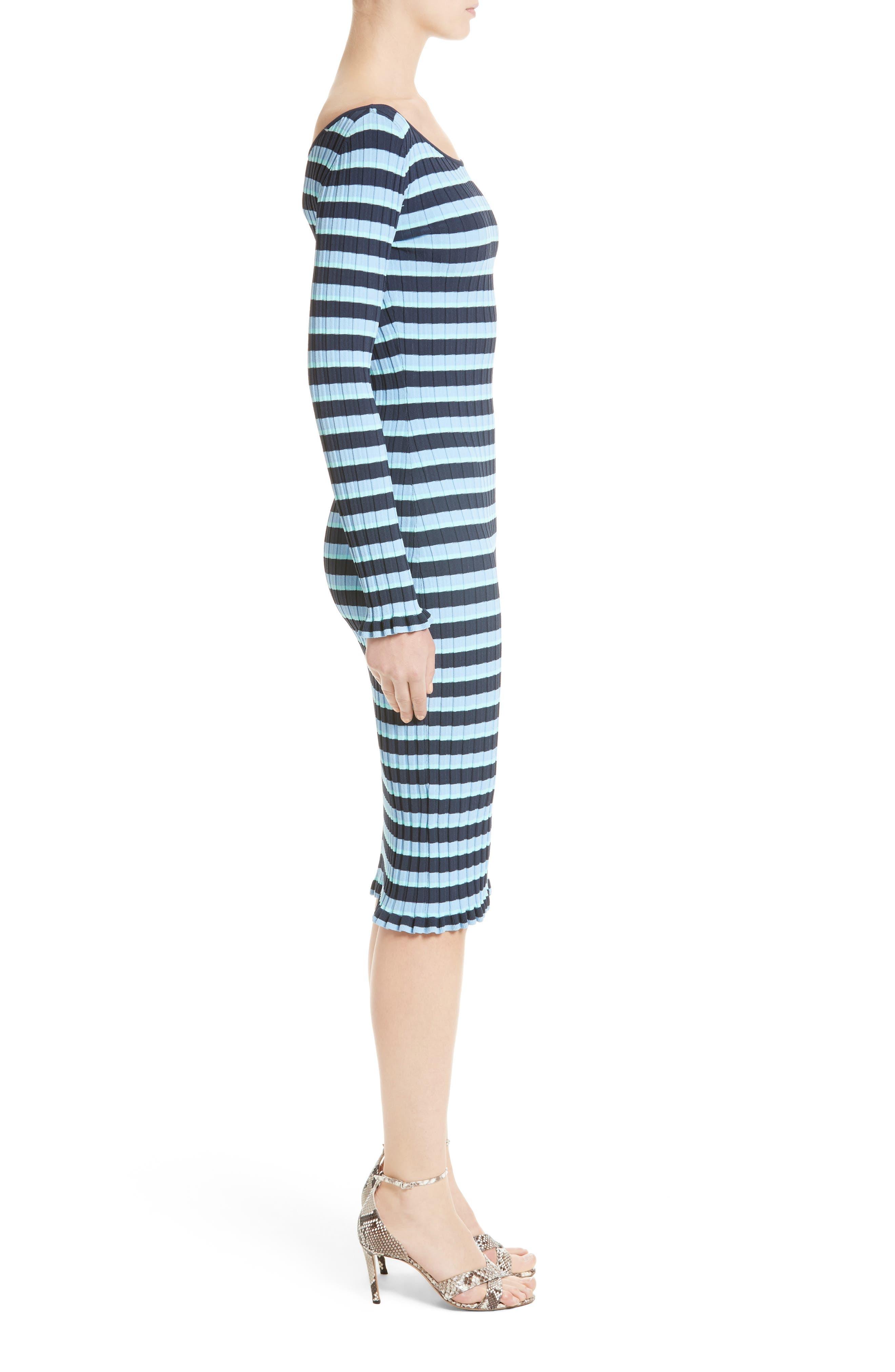 ,                             Socorro Stripe Dress,                             Alternate thumbnail 3, color,                             400