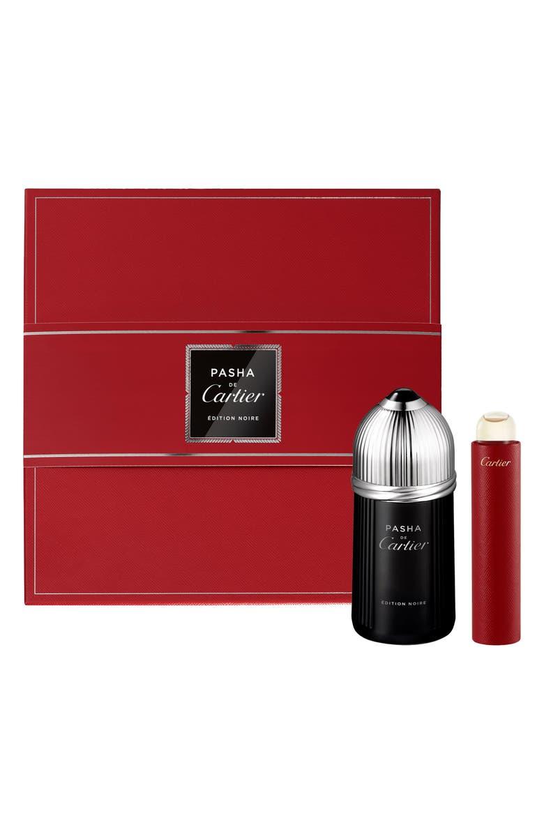 CARTIER Pasha de Cartier Edition Noire Eau de Toilette Set, Main, color, NO COLOR