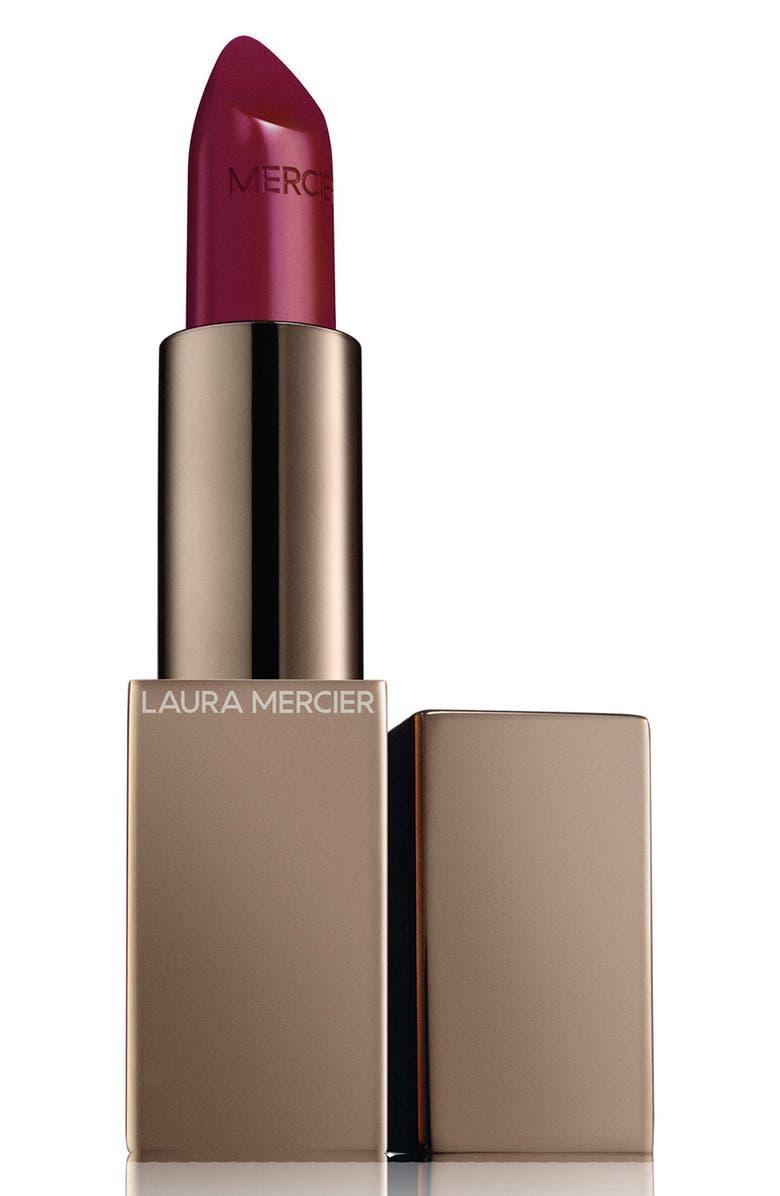LAURA MERCIER Rouge Essentiel Silky Crème Lipstick, Main, color, ROSE ROUGE
