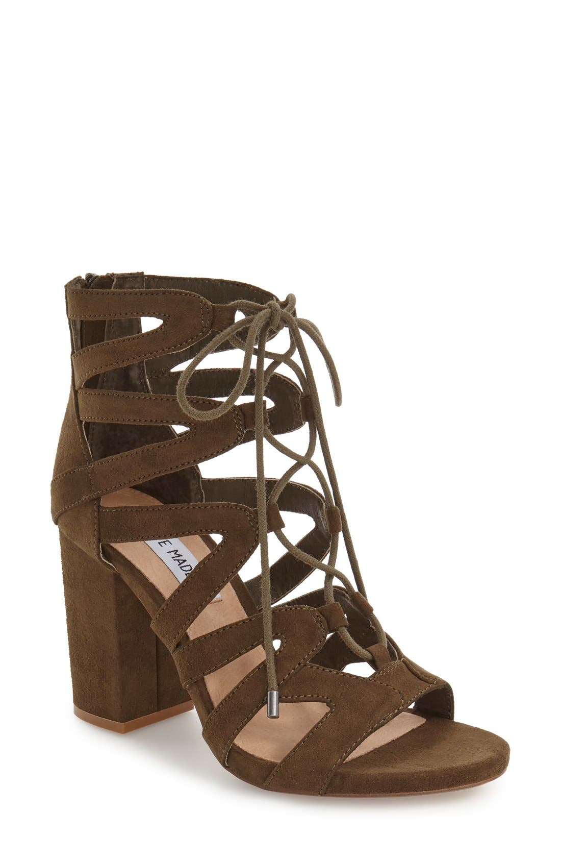 ,                             'Gal' Strappy Lace-Up Sandal,                             Main thumbnail 9, color,                             300