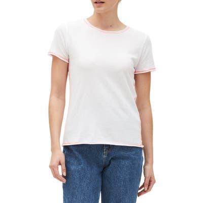 Michael Stars Colleen Classic T-Shirt, White