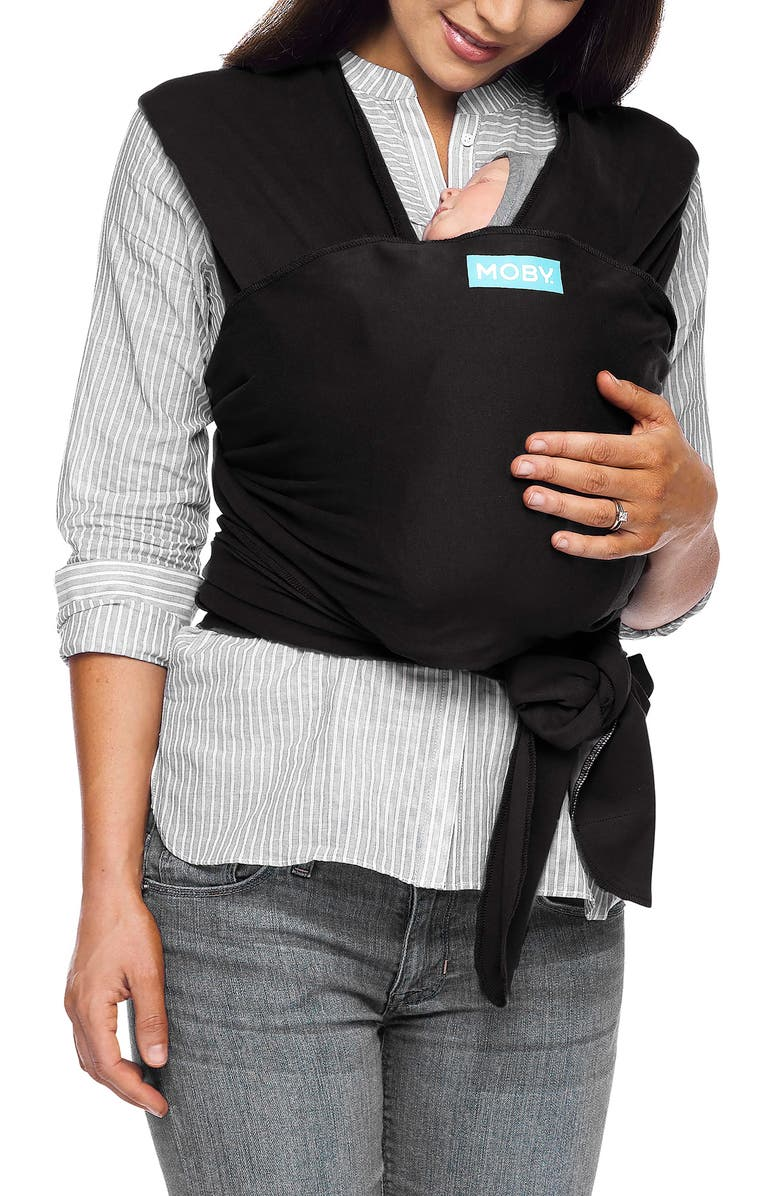 MOBY Classic Baby Carrier, Main, color, BLACK