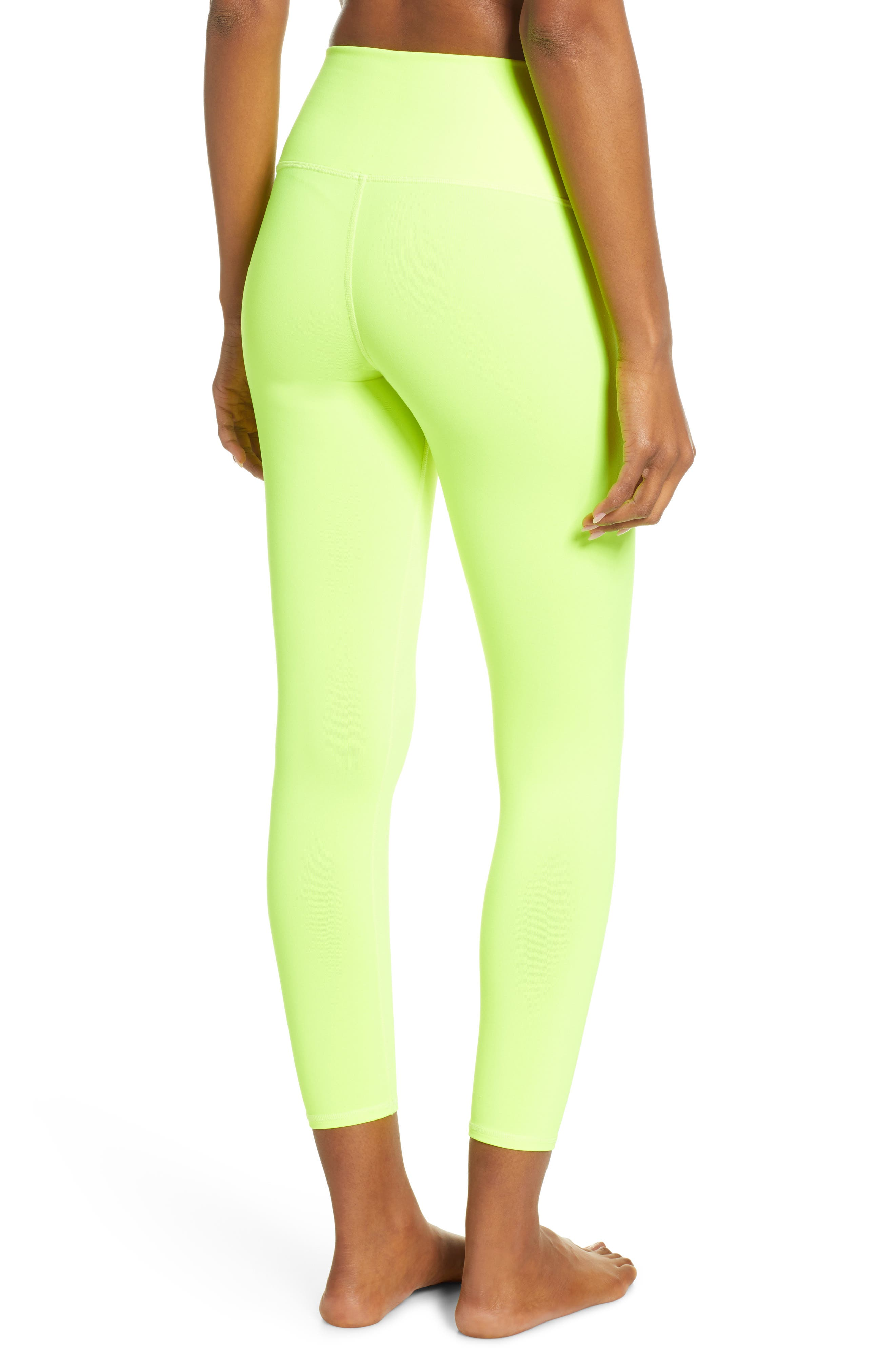 ,                             Airbrush 7/8 High Waist Leggings,                             Alternate thumbnail 2, color,                             HIGHLIGHTER