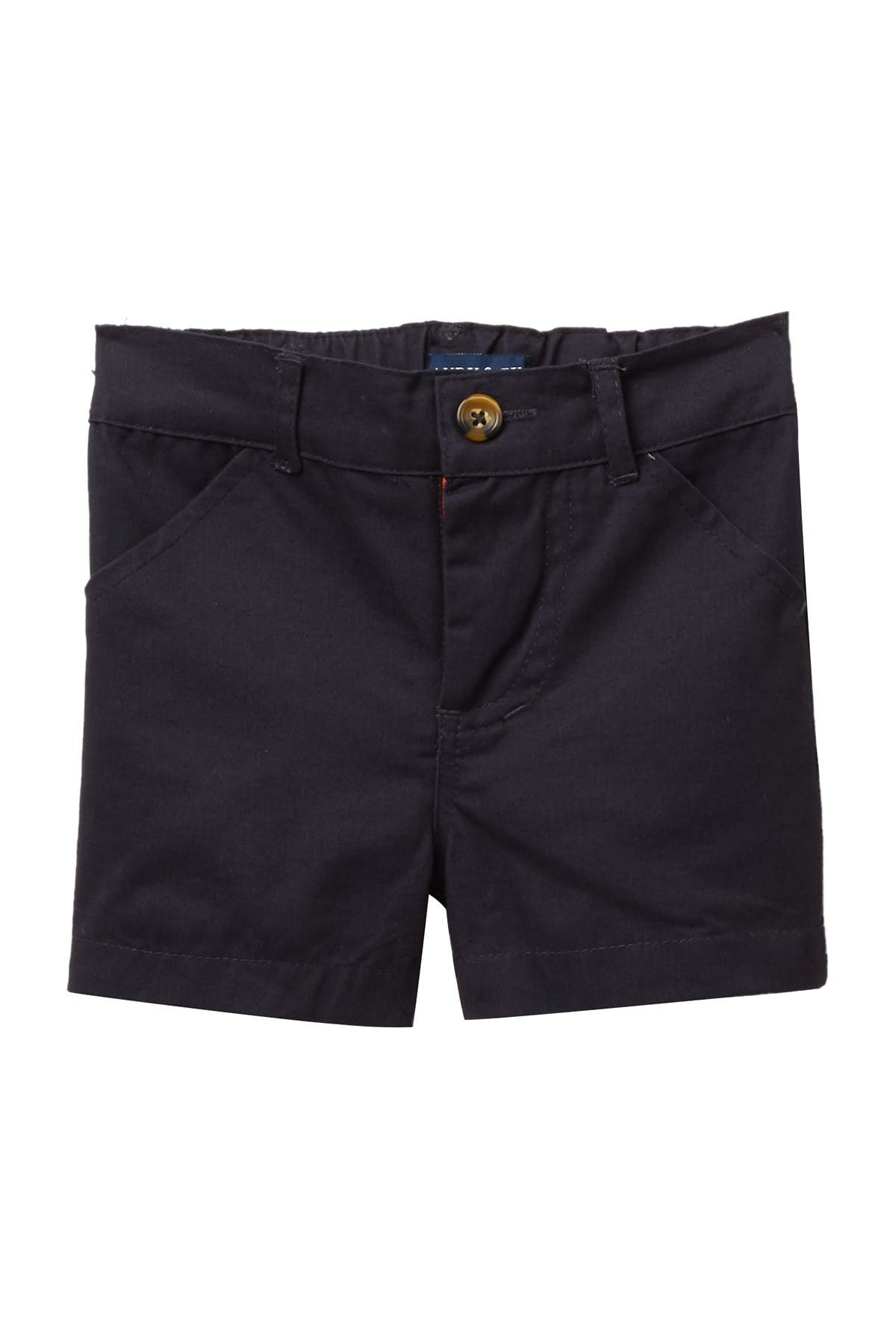 Image of Andy & Evan Navy Twill Shorts