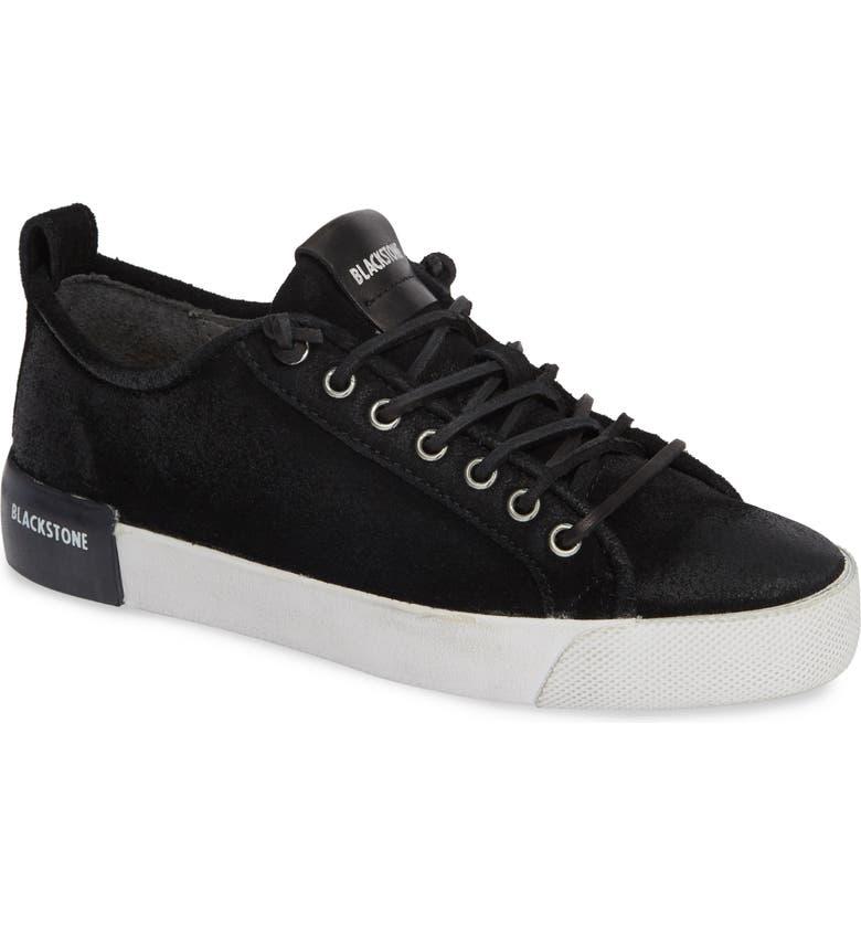 BLACKSTONE GL60 Sneaker, Main, color, BLACK LEATHER