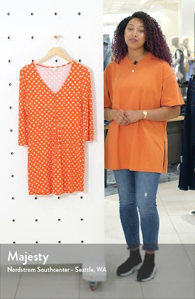 Scarlett Print Fit & Flare Minidress, sales video thumbnail
