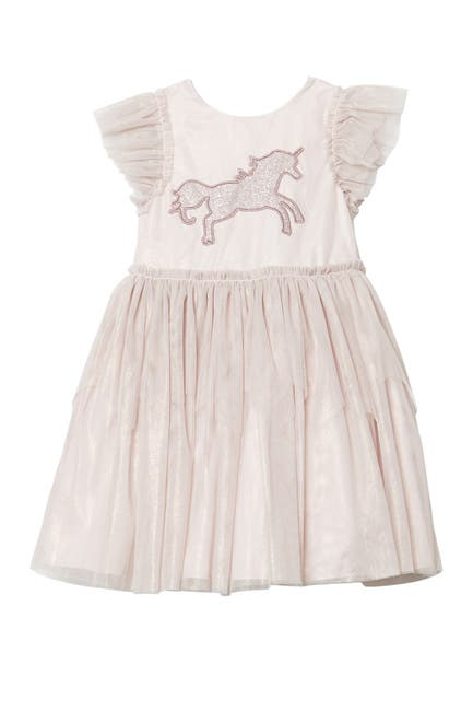 Image of Pastourelle by Pippa and Julie Glitter Unicorn Tutu Dress