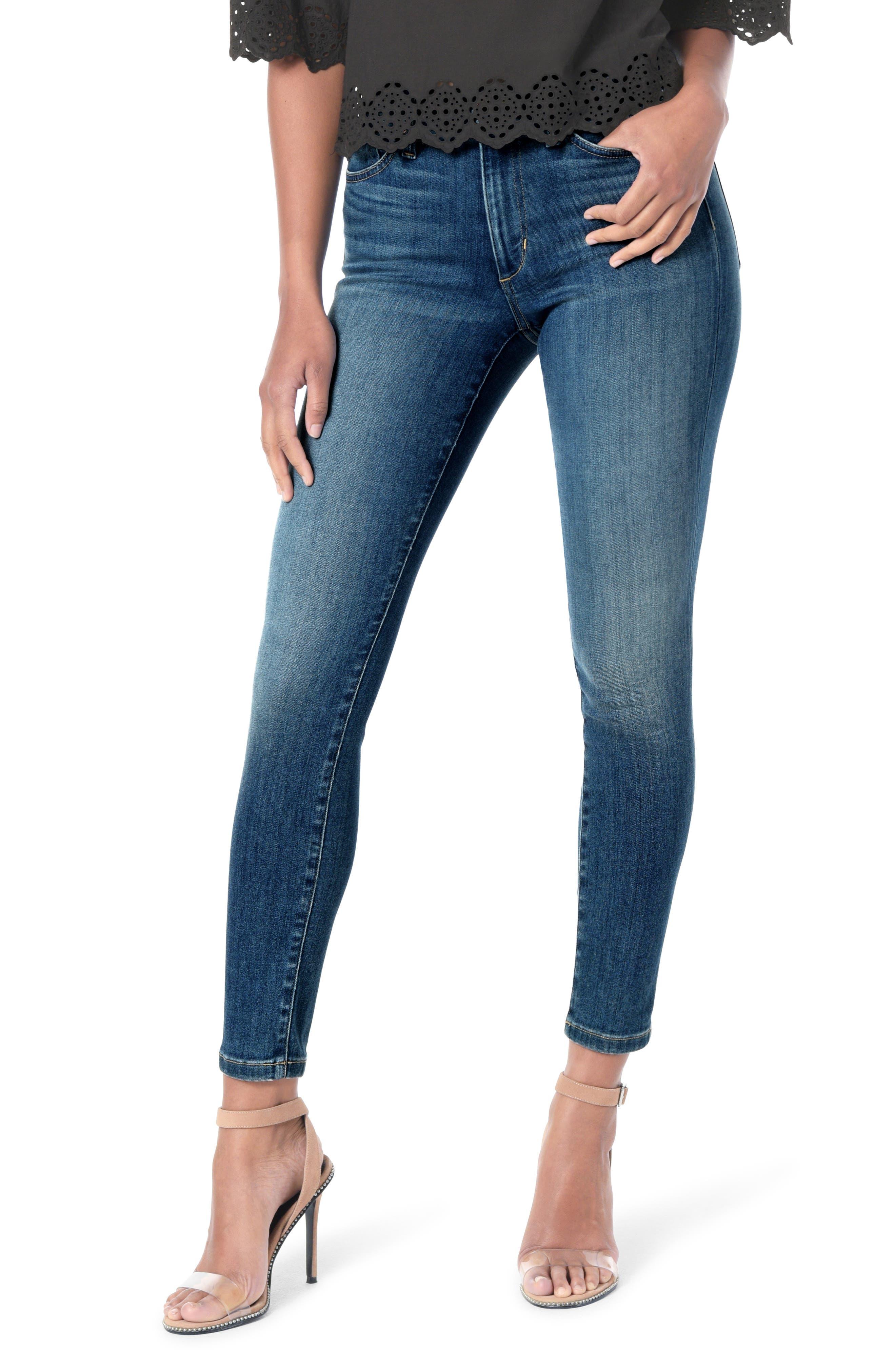 Joe's Jeans Flawless - Honey Curvy High Waist Ankle Skinny Jeans