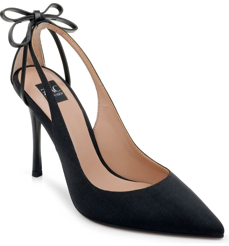 ZAC ZAC POSEN Veronique Pointed Toe Pump, Main, color, BLACK FABRIC