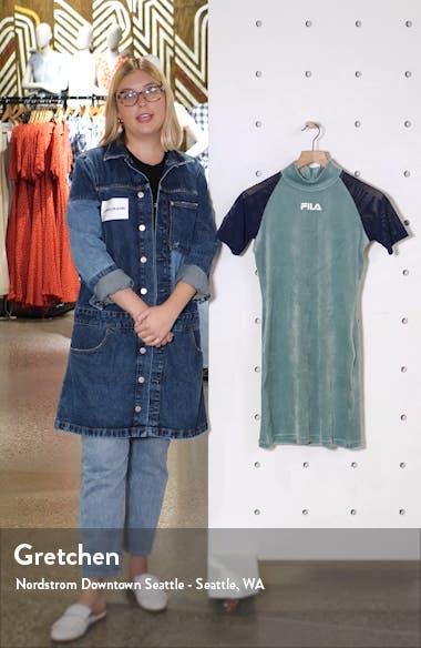 Mahggie Velour Minidress, sales video thumbnail