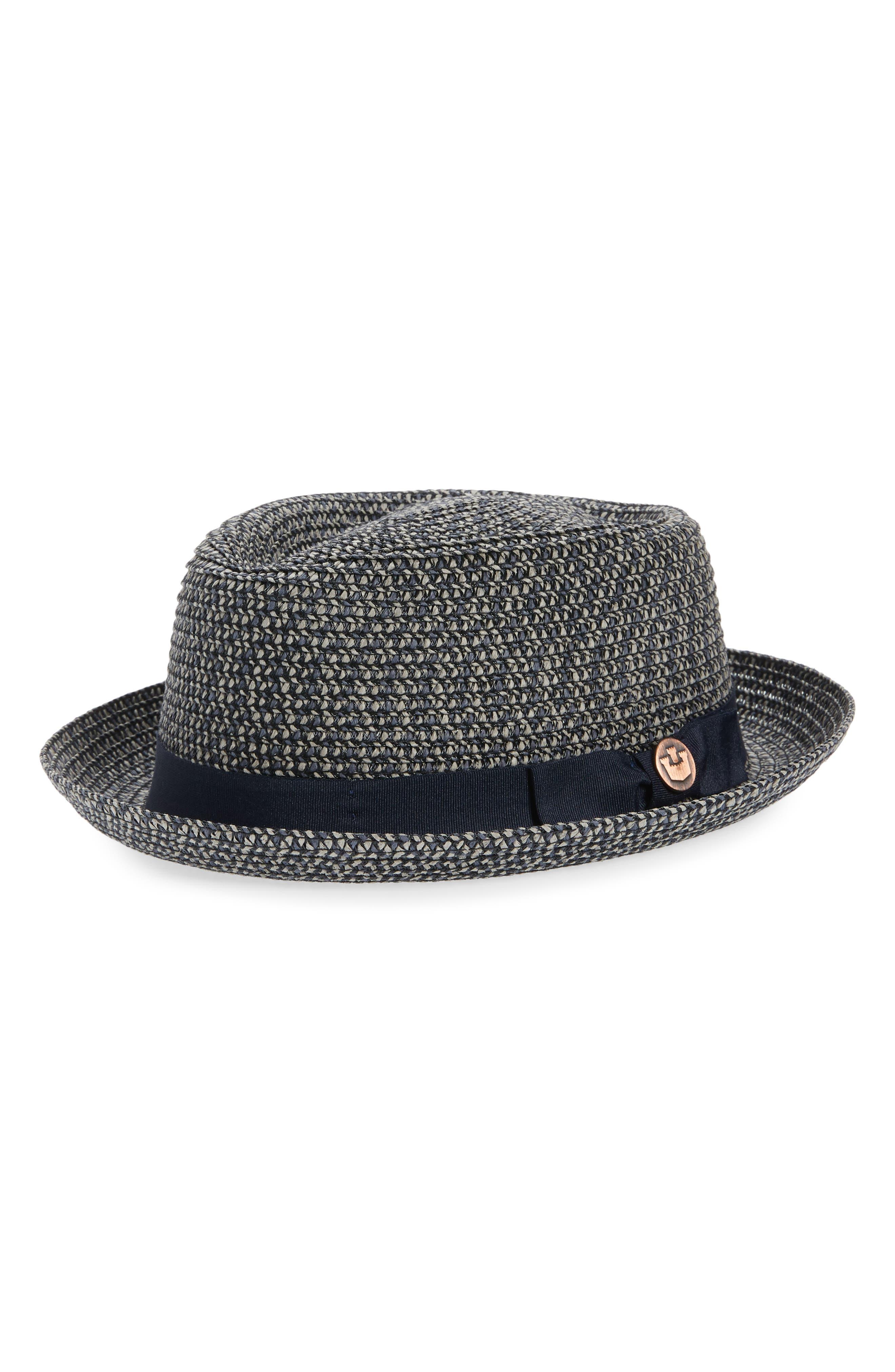 . Low Country Straw Porkpie Hat