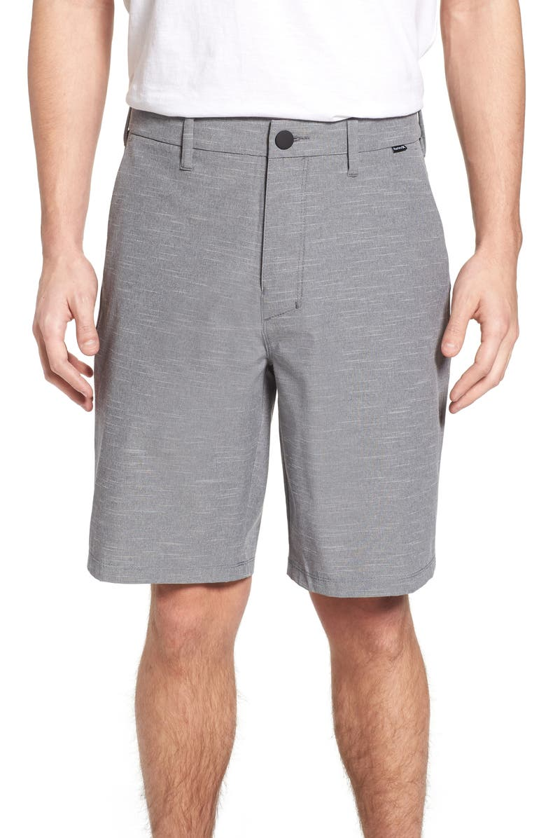 HURLEY Phantom Jetty Hybrid Shorts, Main, color, 010