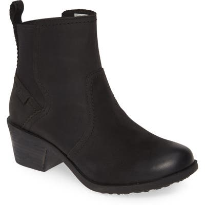 Teva Anaya Waterproof Chelsea Boot, Black