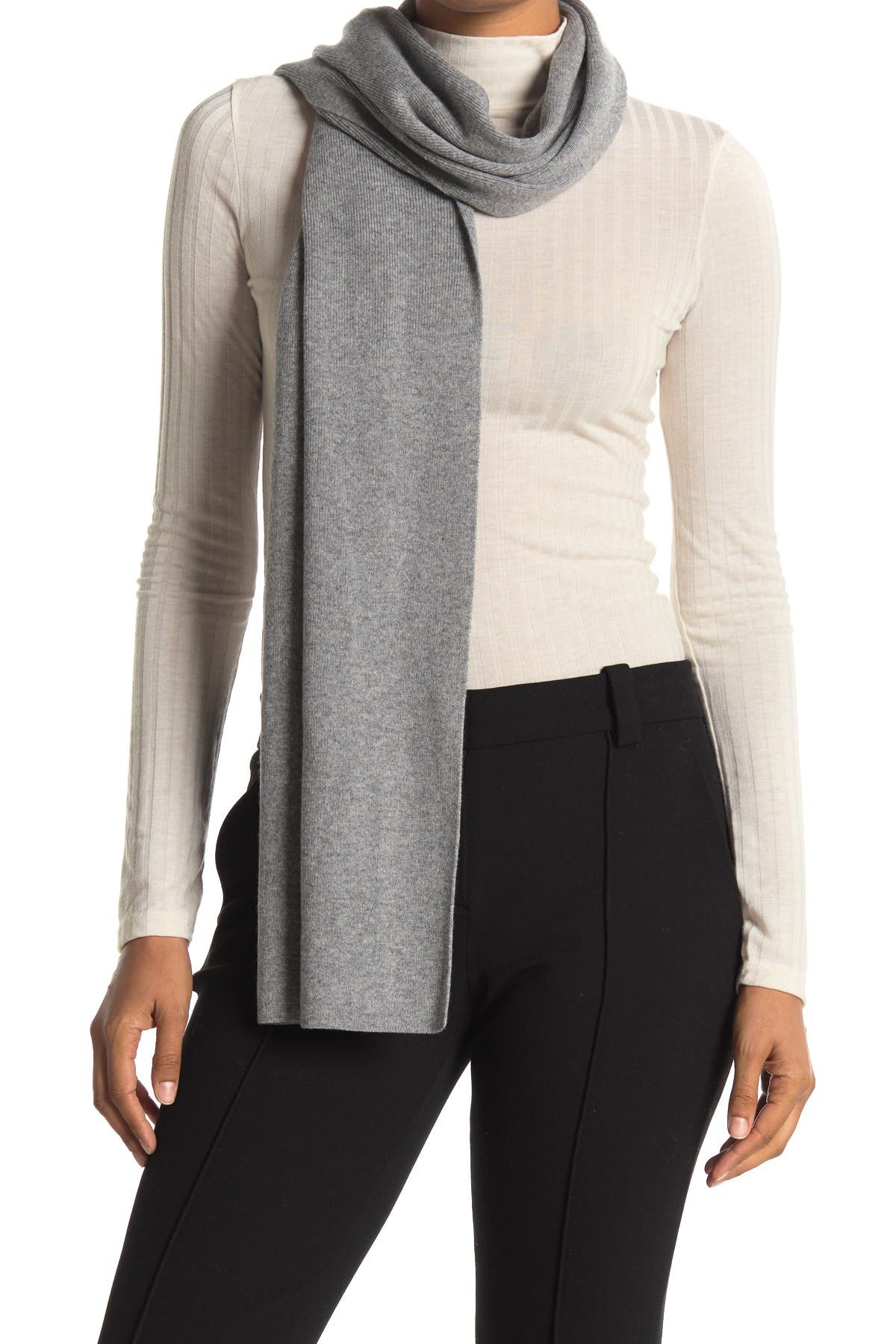 Image of Theory Evers Solid Cashmere Scarf