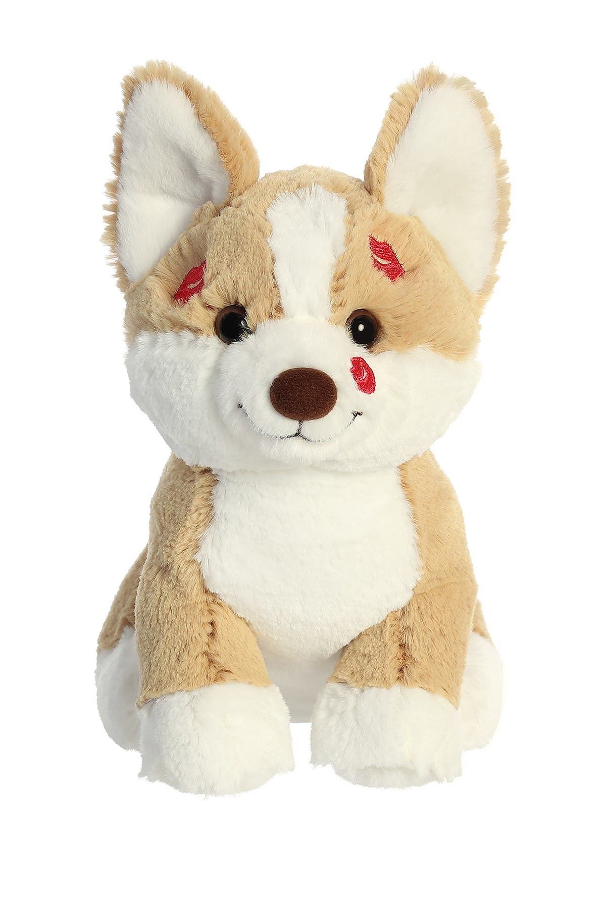"Image of Aurora World Toys 8.5"" Smoochies Corgi Plush"