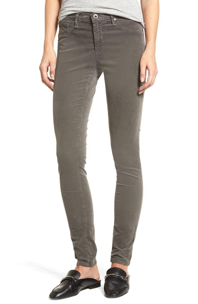 AG The Legging Super Skinny Corduroy Pants, Main, color, 029
