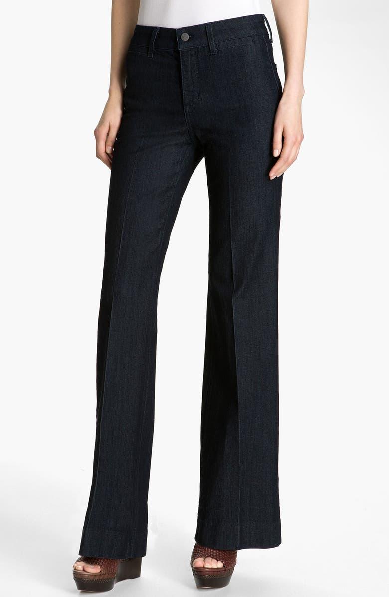 NYDJ 'Greta' Trouser Jeans, Main, color, DARK ENZYME