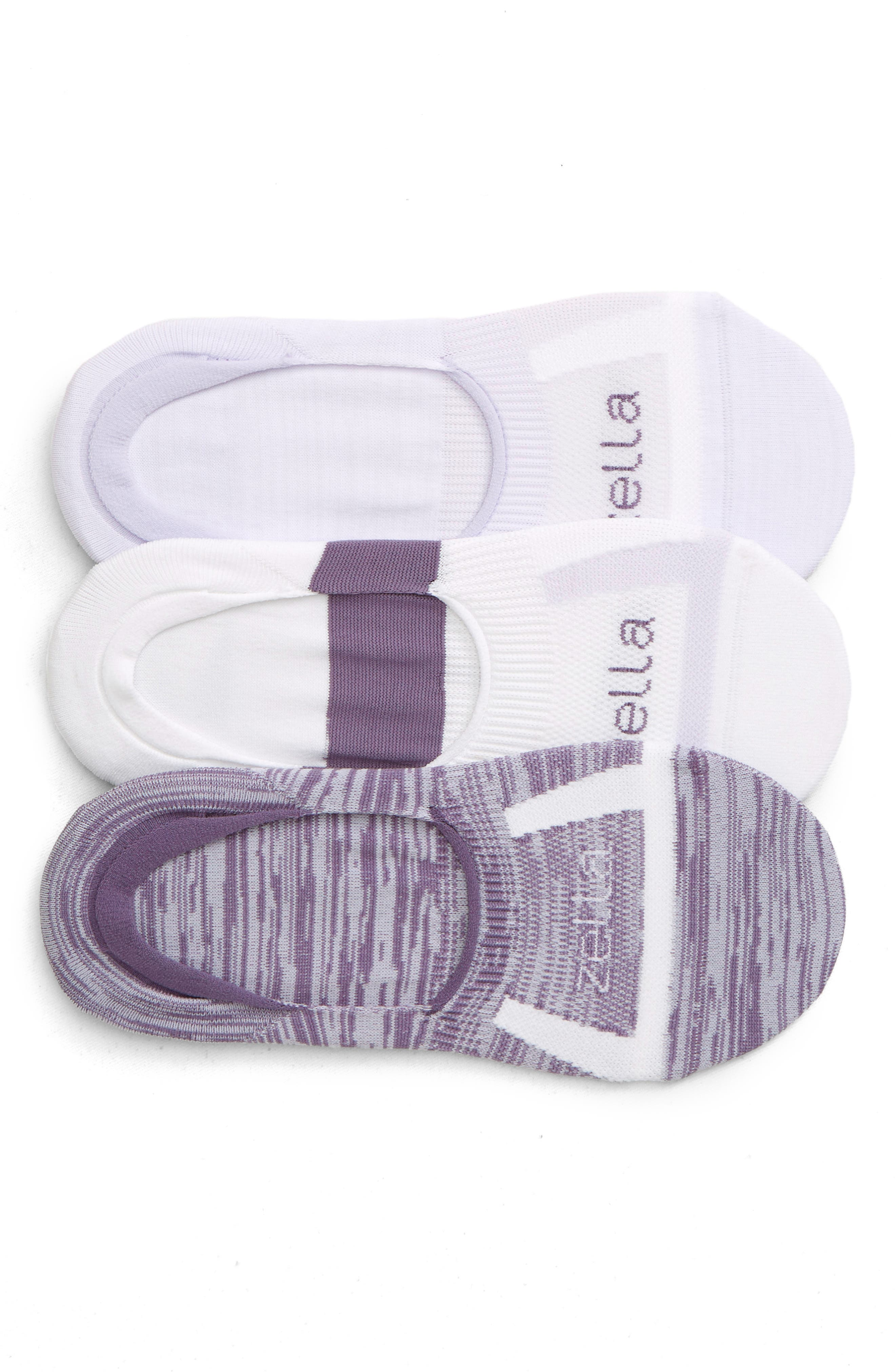 Zella 3-Pack No-Show Socks