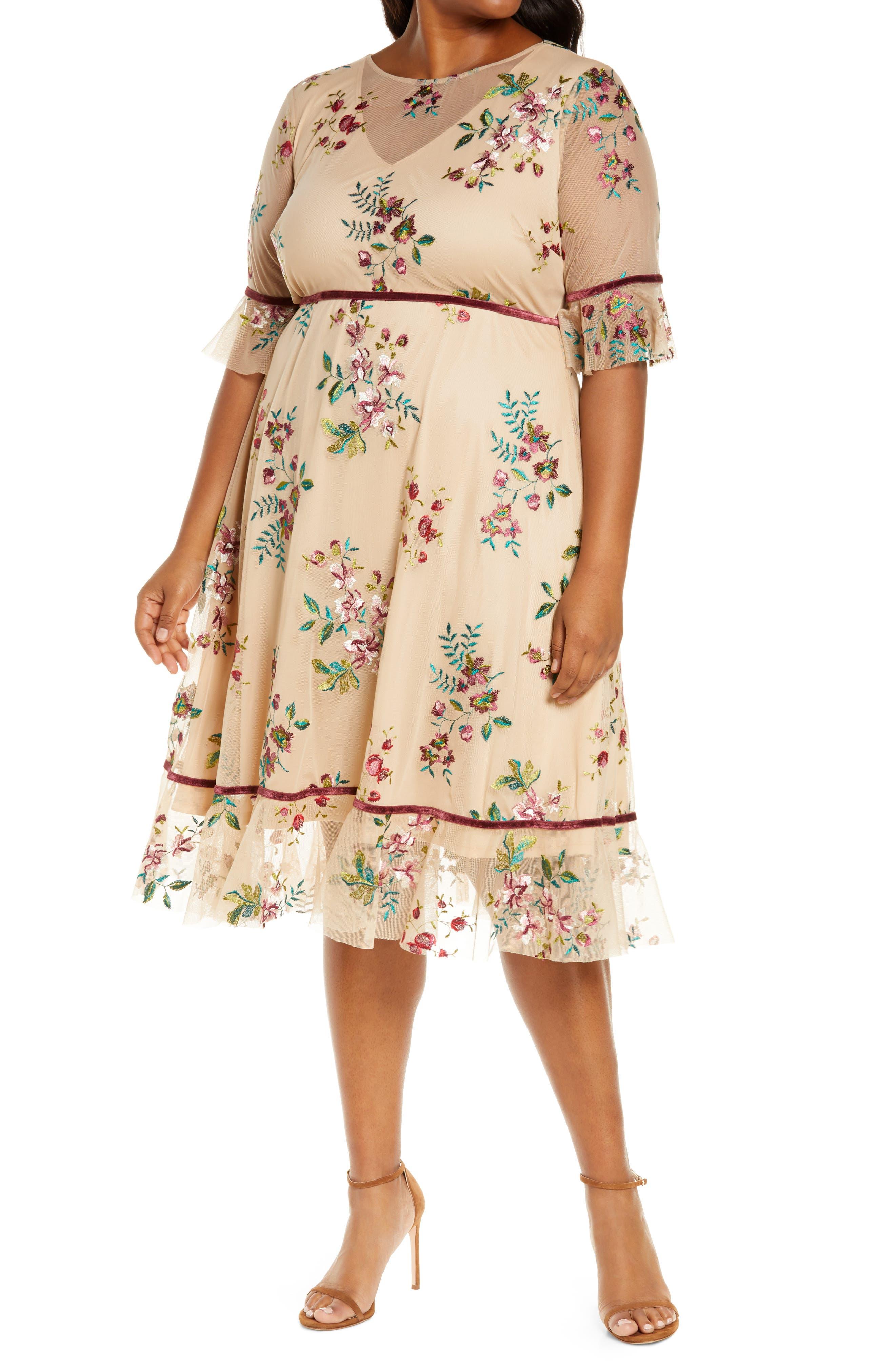 Wildflower Embroidered Dress