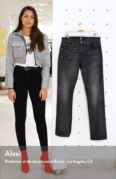 The Straight Slim Straight Leg Jeans, sales video thumbnail