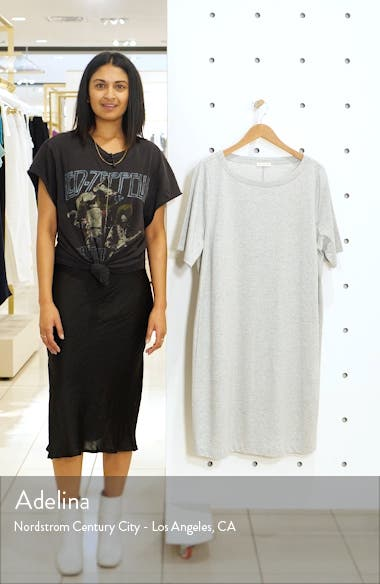 Organic Cotton & Refibra<sup>™</sup> Lyocell T-Shirt Dress, sales video thumbnail
