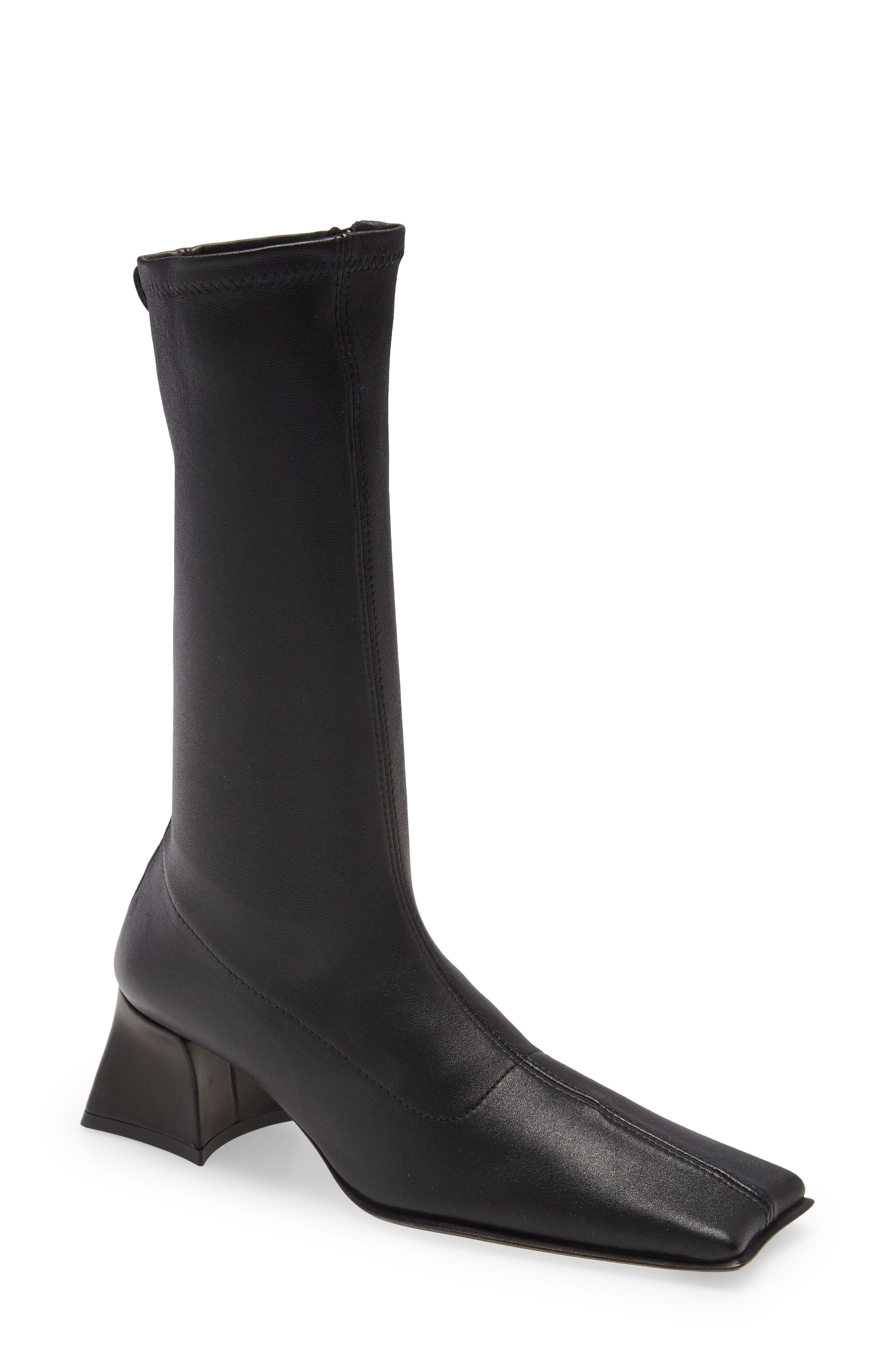 Diana Square Toe Boot