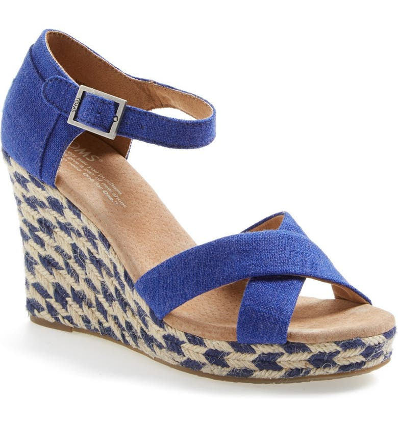 4d86311b456 'Mixed Rope' Wedge Sandal