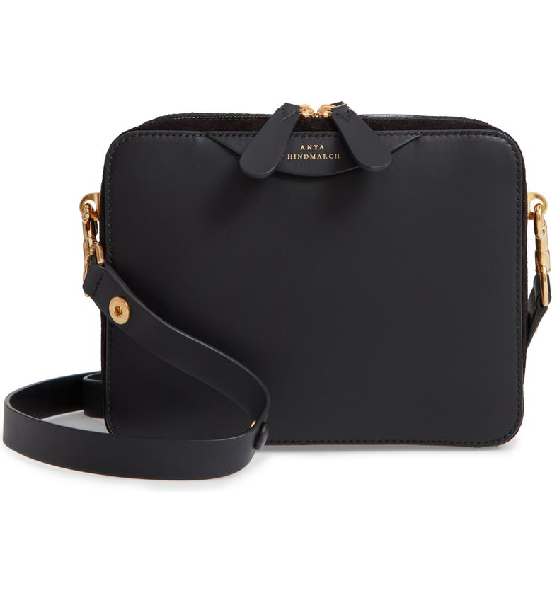 81f8fe85f9 Anya Hindmarch The Double Stack Leather Crossbody Bag | Nordstrom