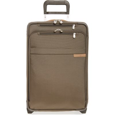 Briggs & Riley Baseline Domestic Expandable 22-Inch Rolling Carry-On - Green