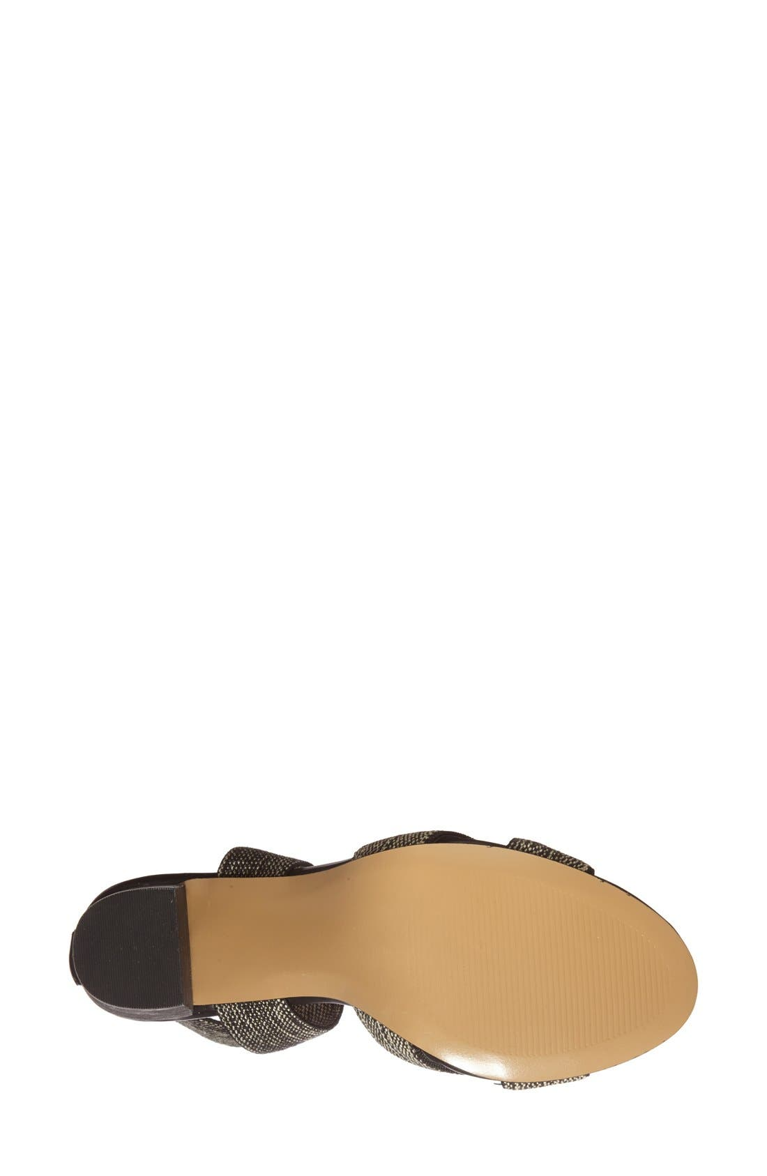 ,                             'Joesy' Block Heel Sandal,                             Alternate thumbnail 8, color,                             002
