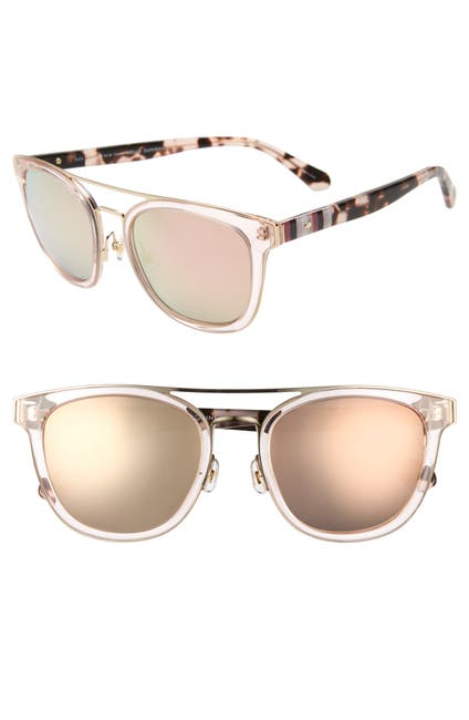 Image of kate spade new york jalicia special fit 54mm sunglasses
