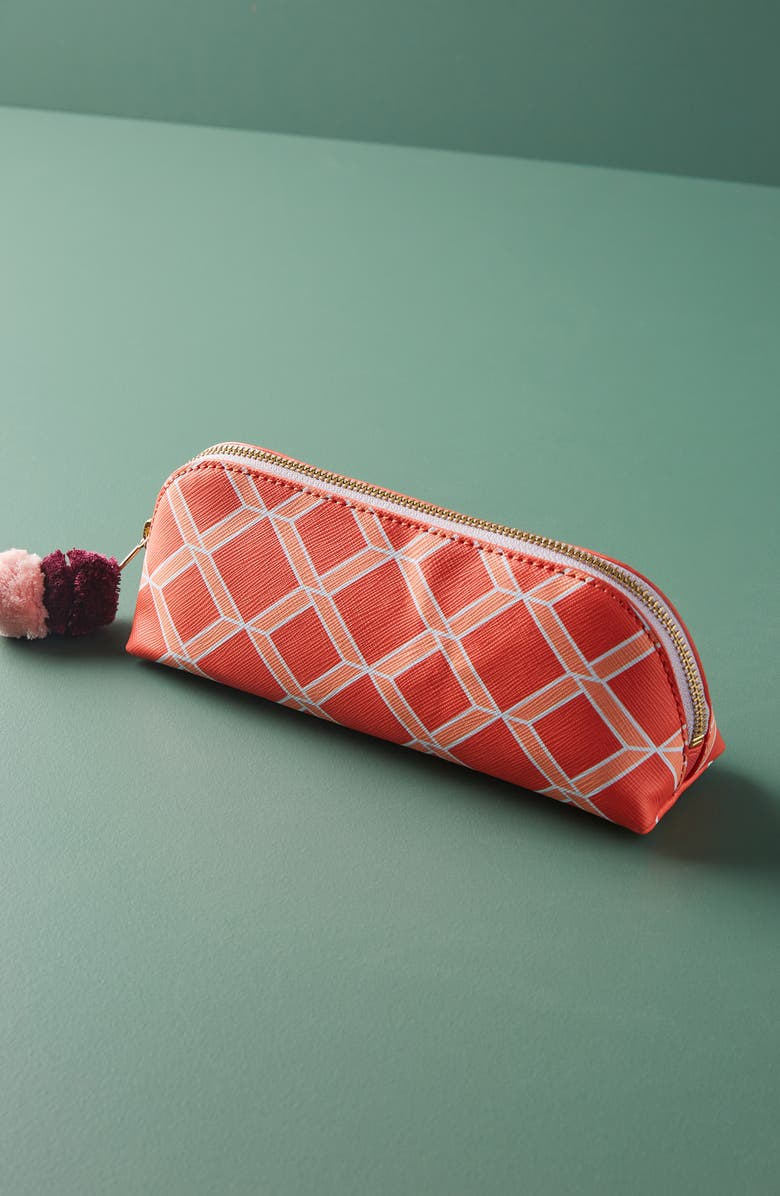 ANTHROPOLOGIE Miri Pouch, Main, color, RED